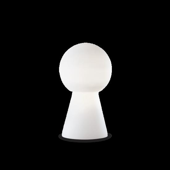 Ideal Lux Birillo 000251 TL1 Medium Bianco Φωτιστικό Δαπέδου Μοντέρνο Λευκό