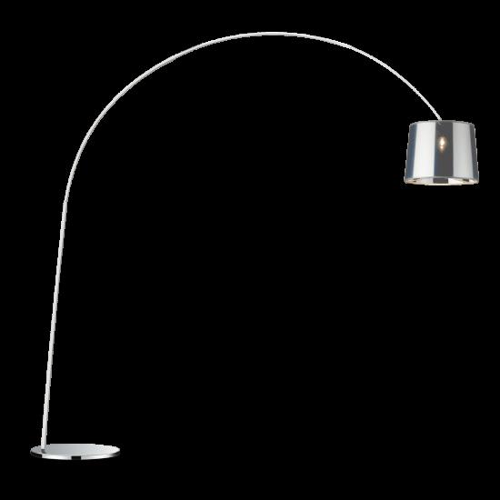 Ideal Lux Dorsale 005126 PT1 Cromo Φωτιστικό Δαπέδου Μοντέρνο Χρώμιο