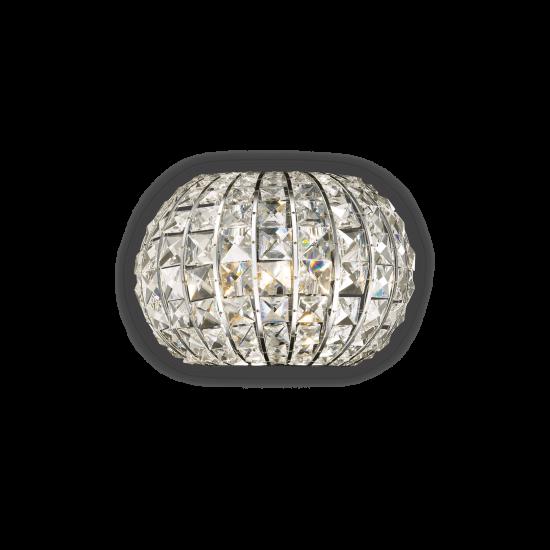 Ideal Lux Calypso 044163 PL4 Φωτιστικό Τοίχου Απλίκα  Μοντέρνο Με Κρυστάλλους