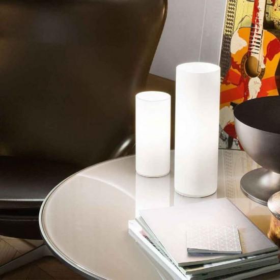 Ideal Lux Edo 044590 TL1 Big Φωτιστικό Επιτραπέζιο Μοντέρνο Λευκό