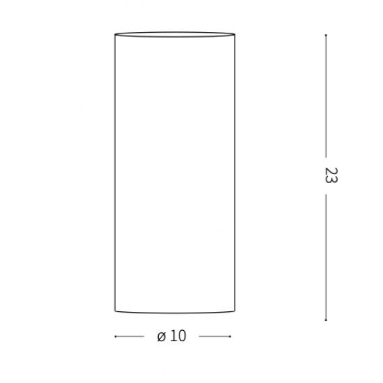 Ideal Lux Edo 044606 TL1 Small Φωτιστικό Επιτραπέζιο Μοντέρνο Λευκό