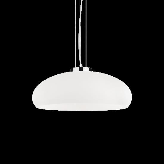 Ideal Lux Aria 059679 SP1 D50 Φωτιστικό Κρεμαστό Μοντέρνο Λευκό