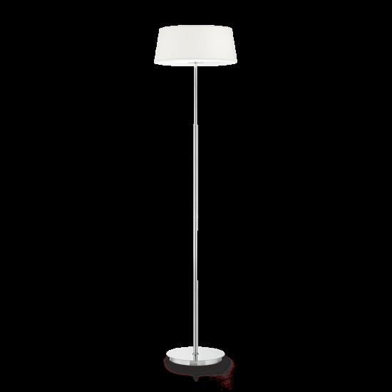 Ideal Lux Hilton 075488 PT2 Bianco Φωτιστικό Δαπέδου Μοντέρνο Λευκό Με Ύφασμα