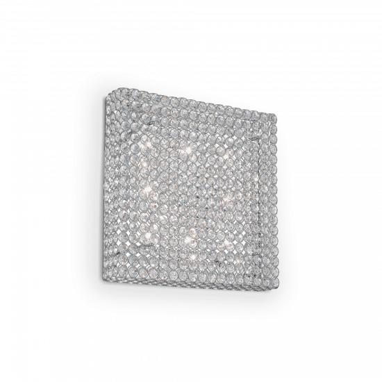 Ideal Lux Admiral 080352 PL8  Φωτιστικό Τοίχου Απλίκα  Μοντέρνο Με Κρυστάλλους