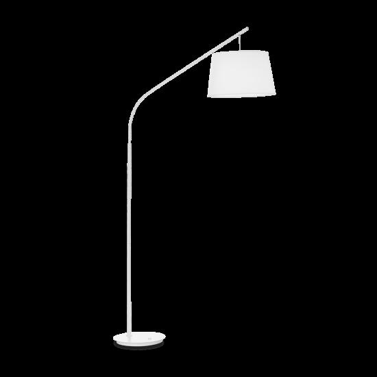 Ideal Lux Daddy 110356 PT1 Bianco Φωτιστικό Δαπέδου Μοντέρνο Λευκό Ματ
