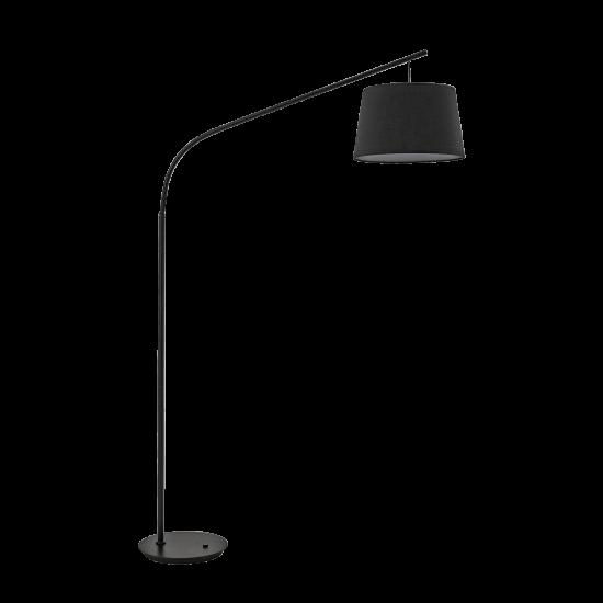 Ideal Lux Daddy 110363 PT1 Nero Φωτιστικό Δαπέδου Μοντέρνο Μαύρο Ματ