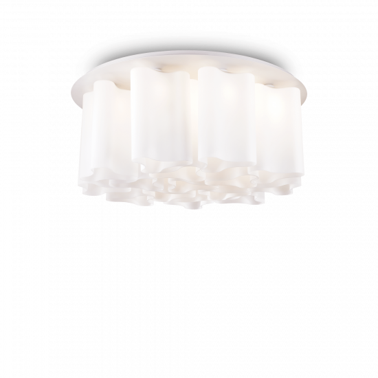 Ideal Lux Compo 125565 PL15 Bianco Φωτιστικό Οροφής Μοντέρνο Λευκό Ματ
