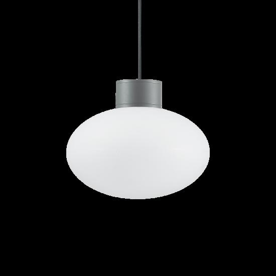 Ideal Lux Clio 136073 MSP1 Antracite Φωτιστικό Εξωτερικού Χώρου Κρεμαστό Ανθρακί