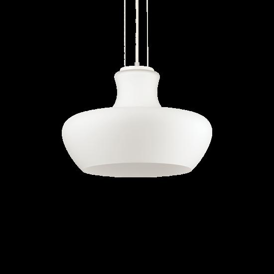 Ideal Lux Aladino 137308 SP1 D45 Bianco Φωτιστικό Κρεμαστό Μοντέρνο Λευκό Ματ