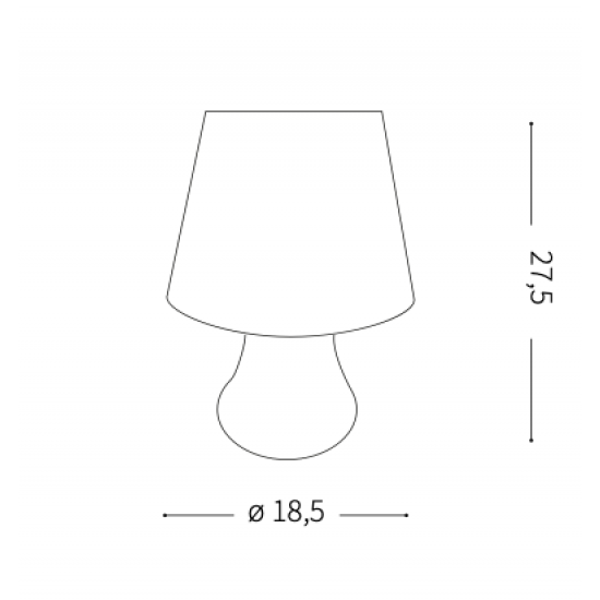 Ideal Lux Live 138886 PT Lumetto Φωτιστικό Εξωτερικού Χώρου Επιτραπέζιο Φορητό Λευκό Αυτόνομο