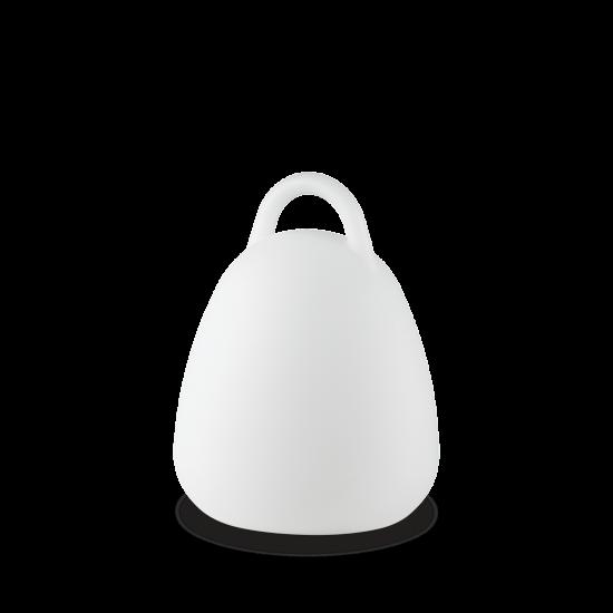 Ideal Lux Live 138893 PT Campana Φωτιστικό Εξωτερικού Χώρου Επιτραπέζιο Φορητό Λευκό Αυτόνομο
