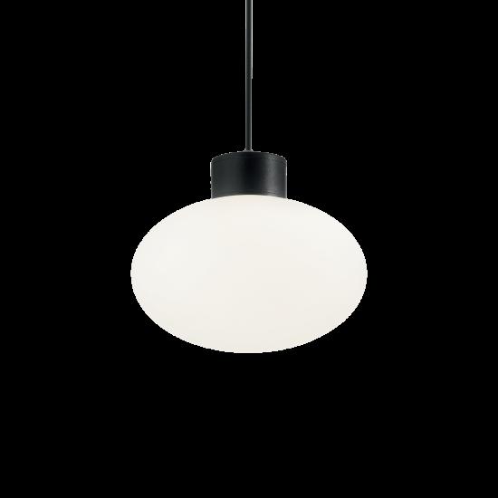 Ideal Lux Clio 144245 MSP1 Nero Φωτιστικό Εξωτερικού Χώρου Κρεμαστό Μαύρο Ματ