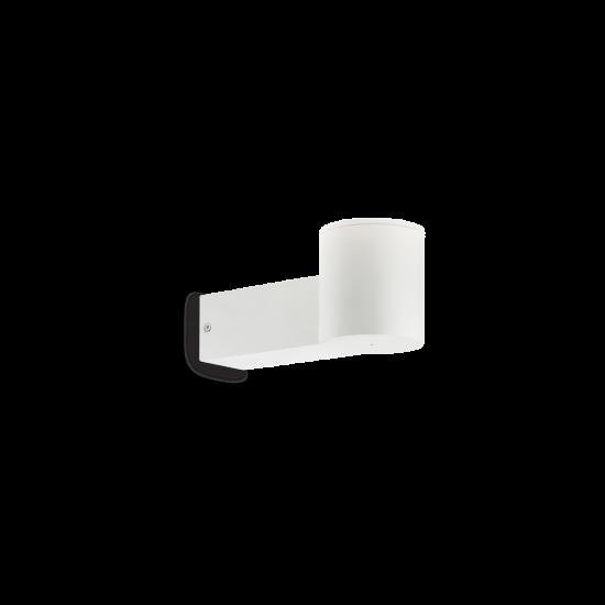 Ideal Lux Clio 146775 MAP1 Bianco Φωτιστικό Εξωτερικού Χώρου Απλίκα Λευκό Ματ