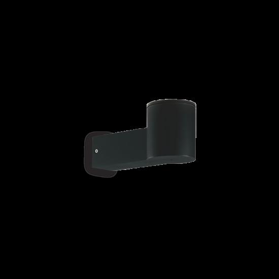 Ideal Lux Clio 146799 MAP1 Nero Φωτιστικό Εξωτερικού Χώρου Απλίκα Μαύρο Ματ