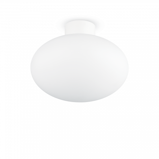 Ideal Lux Clio 148847 MPL1 Bianco Φωτιστικό Εξωτερικού Χώρου Οροφής Λευκό Ματ
