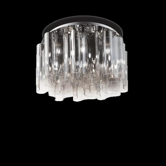 Ideal Lux Compo 172804 PL10 Fumè Φωτιστικό Οροφής Μοντέρνο Φιμέ Γκρι