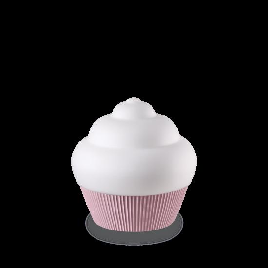 Ideal Lux Cupcake 194448 TL1 Rosa Φωτιστικό Επιτραπέζιο Μοντέρνο Λευκό Ροζ Σε Σχήμα Cupcake