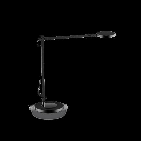 Ideal Lux Futura 204888 TL1 Nero Φωτιστικό Επιτραπέζιο Γραφείου Μοντέρνο Μαύρο