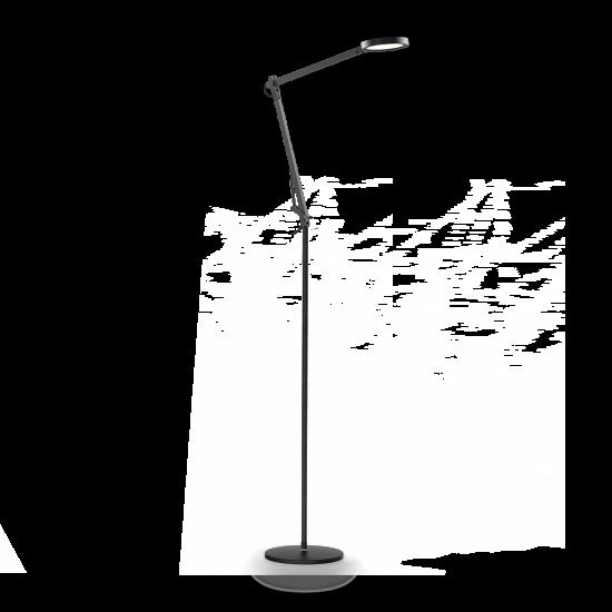 Ideal Lux Futura 204949 PT1 Nero Φωτιστικό Δαπέδου Μοντέρνο Μαύρο
