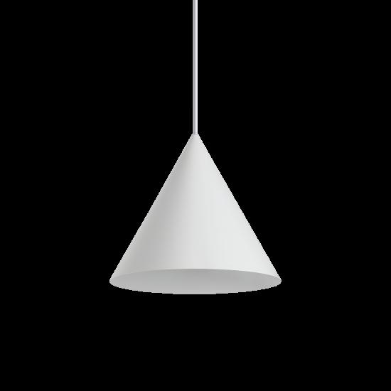 Ideal Lux A-Line 232720 SP1 D30 Bianco Φωτιστικό Κρεμαστό Μοντέρνo Λευκό