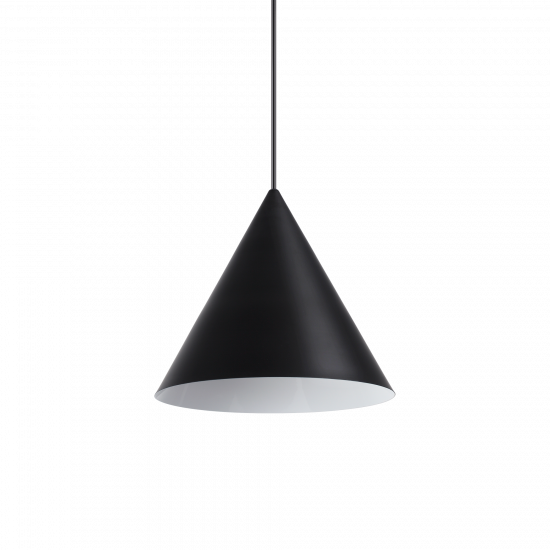 Ideal Lux A-Line 232744 SP1 D30 Nero Φωτιστικό Κρεμαστό Μοντέρνo Μαύρο