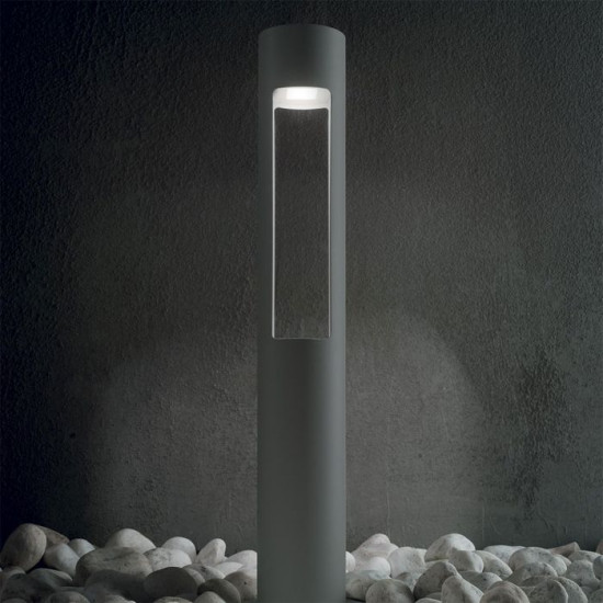 Ideal Lux Acqua 135205 PT1 Antracite Φωτιστικό Εξωτερικού Χώρου Κολωνάκι Εδάφους Ανθρακί