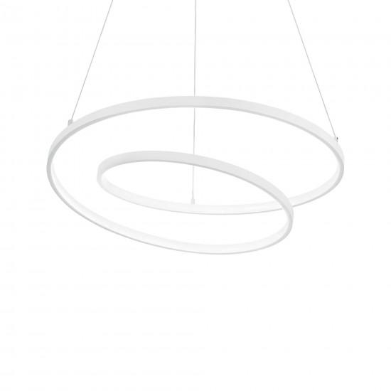 Ideal Lux Oz sp d80 253664 Κρεμαστό φωτιστικό Led Λευκό