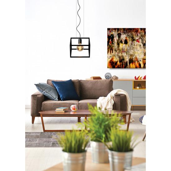 Lucide FABIAN 00425/01/30 Κρεμαστό φωτιστικό 1xE27 Μαύρο