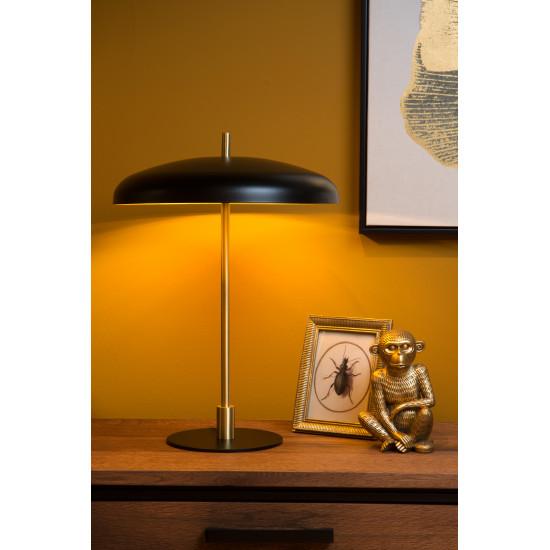 Lucide ELGIN 03531/03/30 Επιτραπέζια λάμπα 3xG9 / 20W Μαύρο / Χρυσό