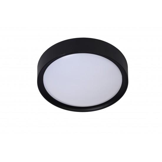 Lucide LEX 08109/01/30 Φωτιστικό οροφής 1xE27 D25cm Μαύρο