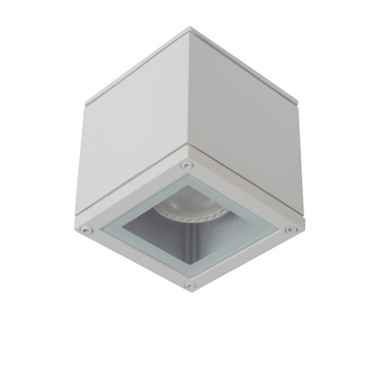 Lucide AVEN 22963/01/31Προβολέας οροφής Square Gu10 / 50W IP-65 Λευκός