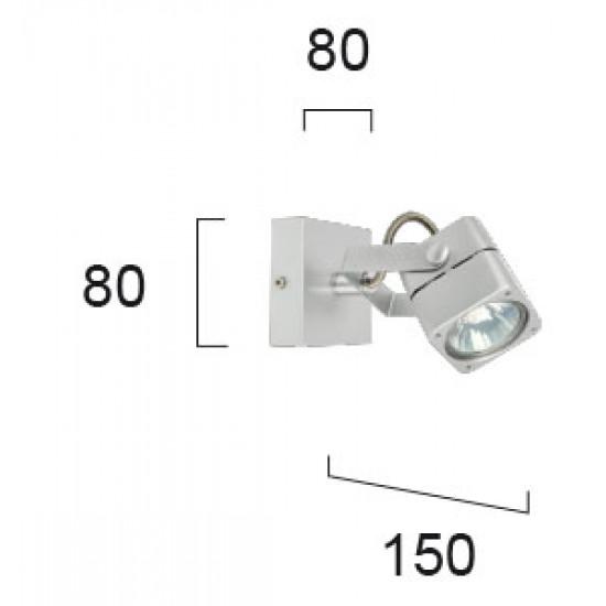 Viokef ARNET 4104400 Σποτ σε αλουμίνιο