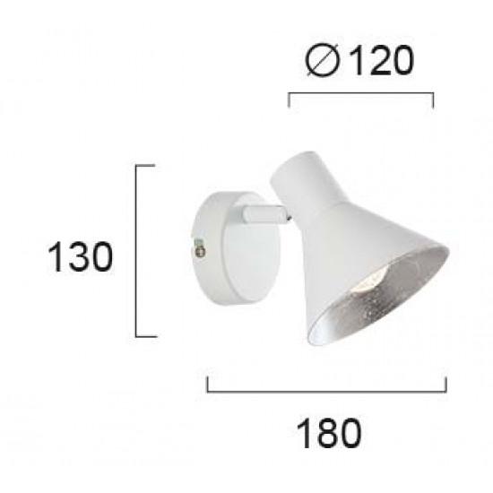 Viokef HARVEY 4167001 Σποτ Λευκό