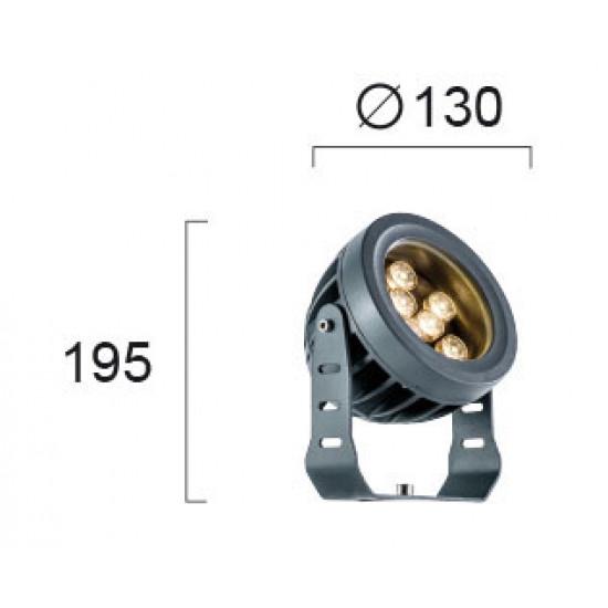 Viokef ERMIS 4205100  Εξωτ. Χώρου Προβολέας D:130