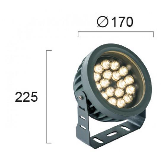 Viokef ERMIS 4205200  Εξωτ. Χώρου Προβολέας D:170