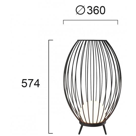 Viokef SAMORA 4224000 Λάμπα Εξ. Χώρου H:574