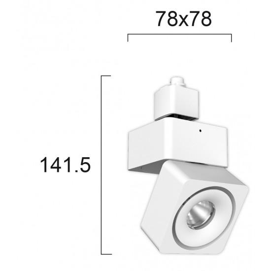Viokef MORIS 4225400 Spot Ράγας Λευκό