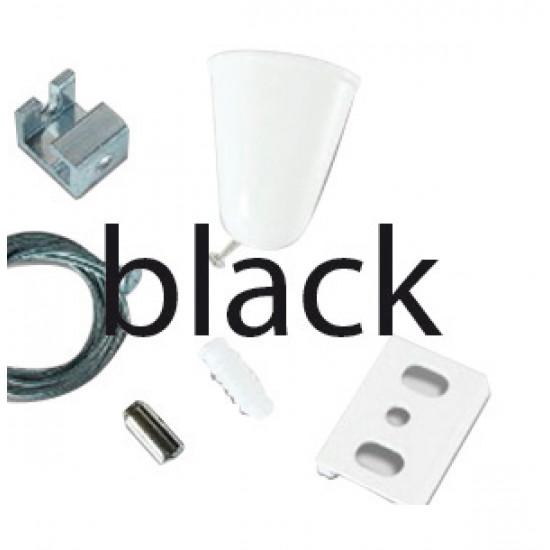 Viokef 02/0002 Suspension Kit+ 2M Καλώδιο Μαύρο