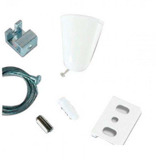 Viokef 02/0007 Suspension Kit +2M Καλώδιο Λευκό