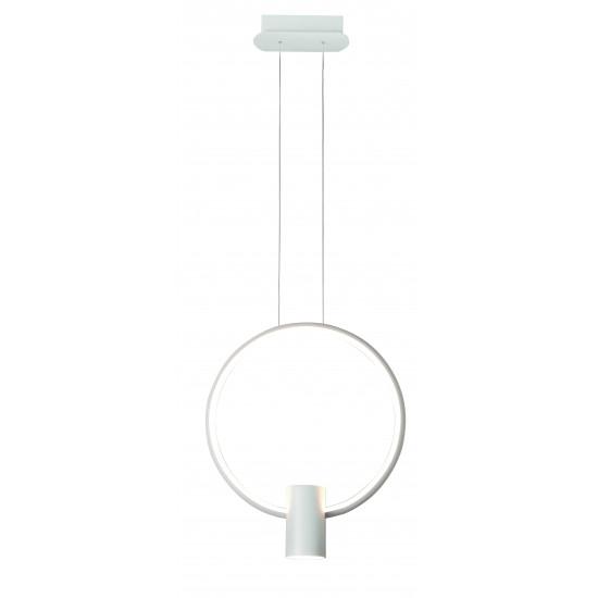 Viokef SINDY 4205900 Μεταλλικό Κρεμαστό Φωτιστικό Λευκό LED