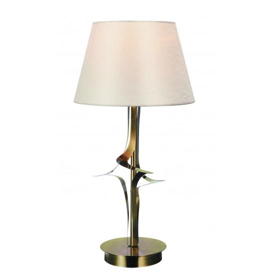 Viokef JULIET 4210600 Φωτιστικό Επιτραπέζιο με καπέλο εκρού. Ανάρτηση οξυντέ.