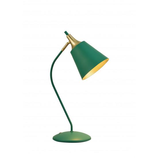Viokef MENTA 4241700 Φωτιστικό Επιτραπέζιο Μεταλλικό σε πράσινο με χρυσό.