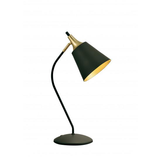 Viokef MENTA 4241701 Φωτιστικό Επιτραπέζιο Μεταλλικό σε μαύρο με χρυσό.